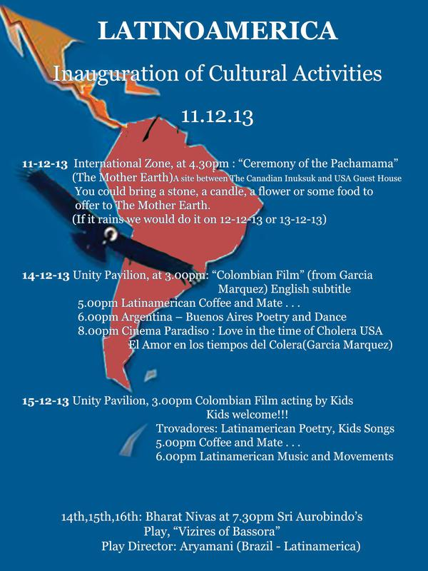 Photographer:Anandi   LATINOAMERICA - Inauguration of cultural activities 11.12.13