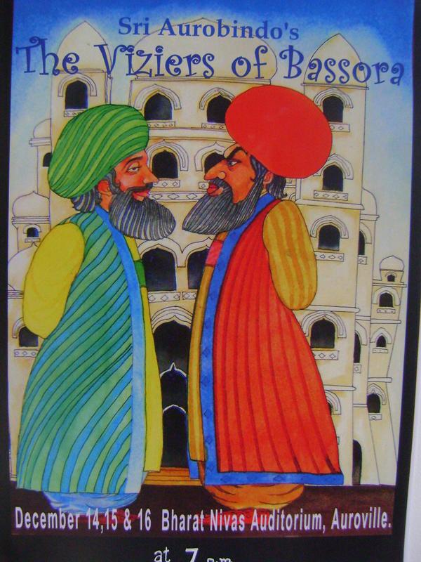 Photographer:web   Viziers of Bassora, Sri Aurobindo Play, 14, 15, 16th of December<br />