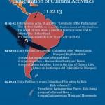 LATINOAMERICA inaugarition of cultural activities