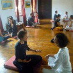 The workshop at Pavilion of Tibetan Culture