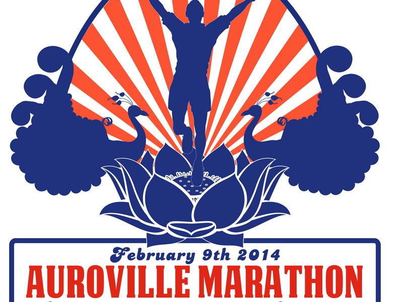 Photographer:web | 7th Aurovile Marathon logo<br />