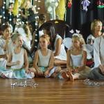 Dance teacher Grace and her pupils.