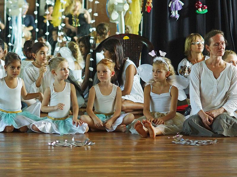 Photographer:Giorgio | Dance teacher Grace and her pupils.