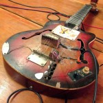 Yuva Veena. This instrument is still on the making.