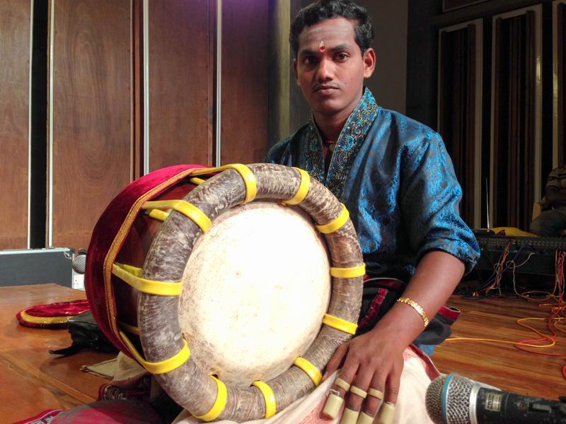 Photographer:Andrea | Manikandavan on Thavil, the South Indian temple drum.