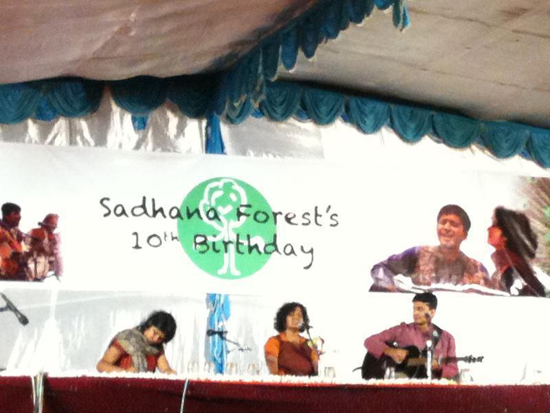 Photographer:Boobalan | shrive painting , Vedanth Bharadwaj playing guitar, Bindu Narayanaswamy