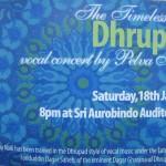 Dhrupad vocal concert