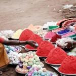 Kolam rice powder
