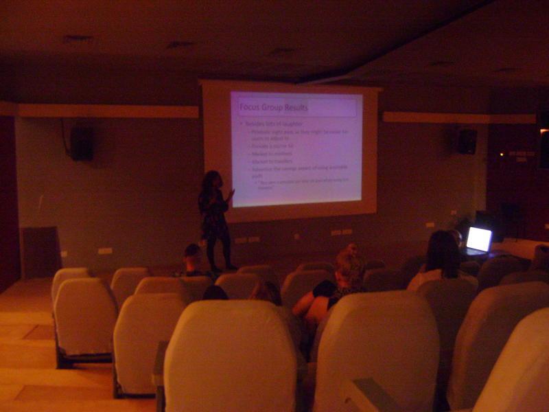 Photographer:Anamaria   Multimedica Center, town Hall presentation