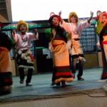 Joyful dance to free Tibet
