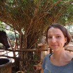 Sarah, leader of Evergreen Riding School