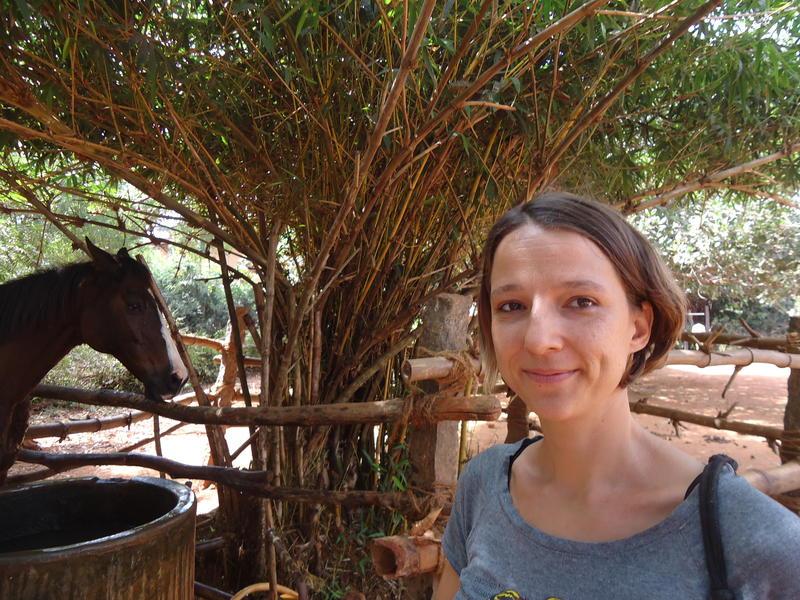 Photographer:Sandrine | Sarah, leader of Evergreen Riding School