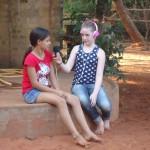 Leela interviewing Satyamayi