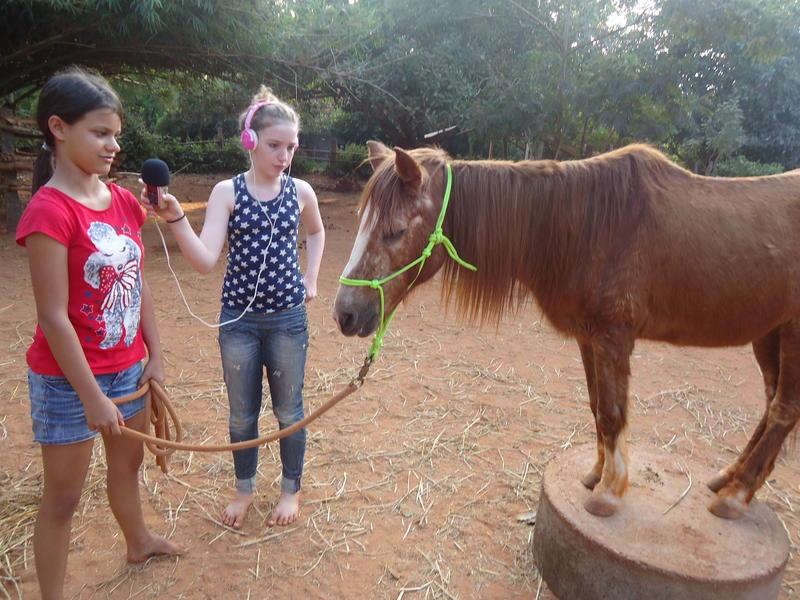 Photographer:Sandrine | Leela and Satyamayi at Evergreen