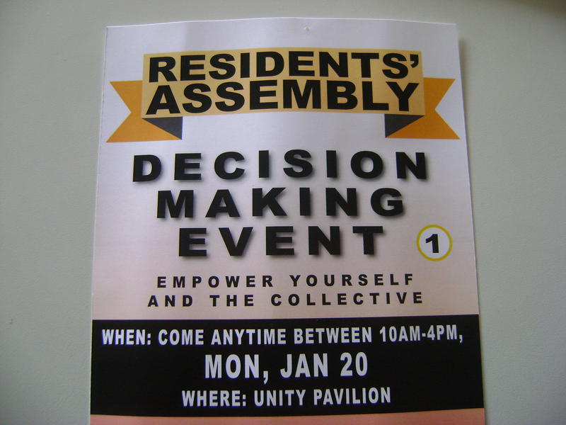Photographer:Marta | Residents' Assembly Decision Making Event today at Unity Pavilion