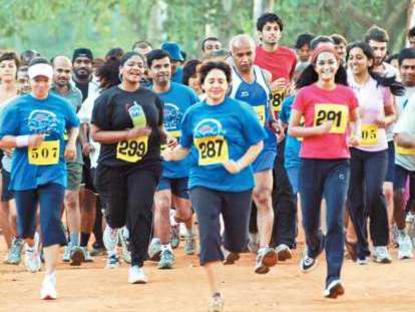 Photographer:Marta | Auroville Marathon on 9th of February