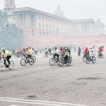 Cycling from Rashtrapati Bhavan, New Delhi to Biodiversity Park