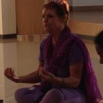 Starting meditation with Anandi