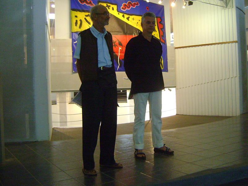Photographer:Alma | Prof. Edwin Zappa and Drago Druskovic