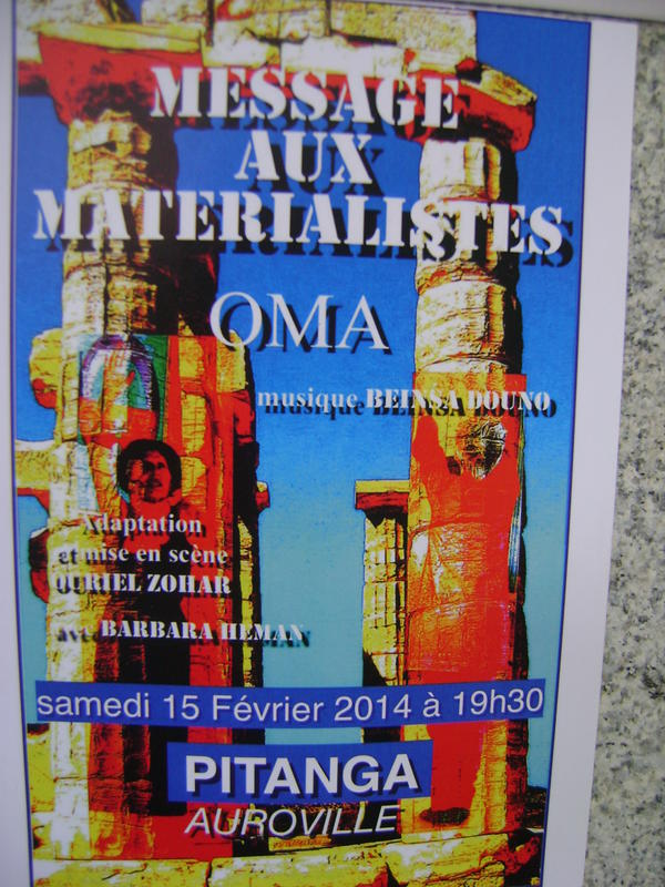 Photographer:barbara | Messages aux materialistes