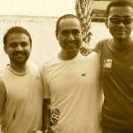 Balaji on far right