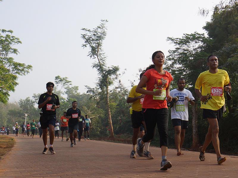 Photographer:web | Last year Auroville Marathon