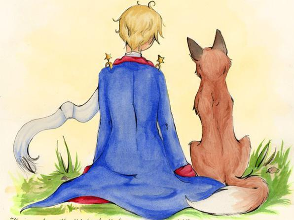 Photographer:internet | The Little Prince and the Fox 2