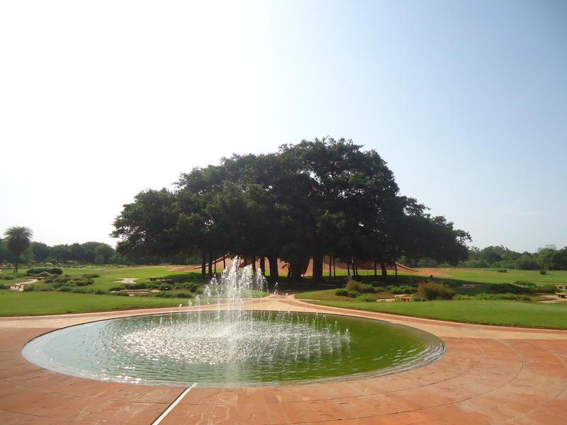 Photographer:Sandrine | The new fountain at Matrimandir garden