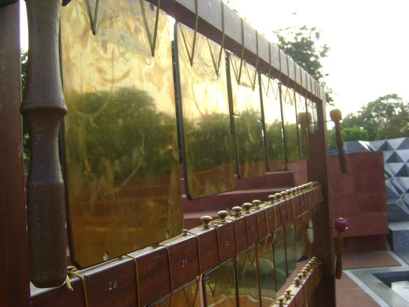 Photographer:Vida | A Call for Grace, Russian Bells at Unity Garden in Matrimandir