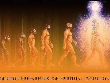 Photographer:web | Physicial evolution prepares for spiritual evolution