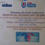 Menstrual Hygiene Celbration Day