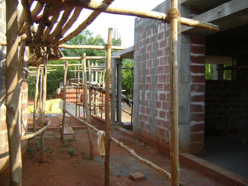 Photographer:Barbara | Auroville Farewell Facility in progress