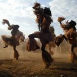 Mozambique dancers