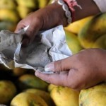 Calcium carbide is also used for ripening fruit artificially