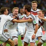 World Cup 2014 - winning Germany team