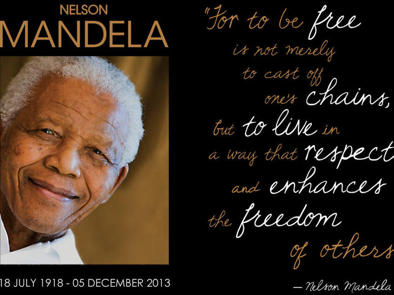 Photographer:web | Nelson Mandela Day