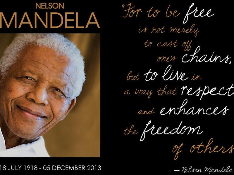 Photographer:web | Nelson Mandela Day