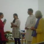 Tatiana, Mousumi, Robert, Srhaddavan