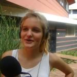 Reporter Amara