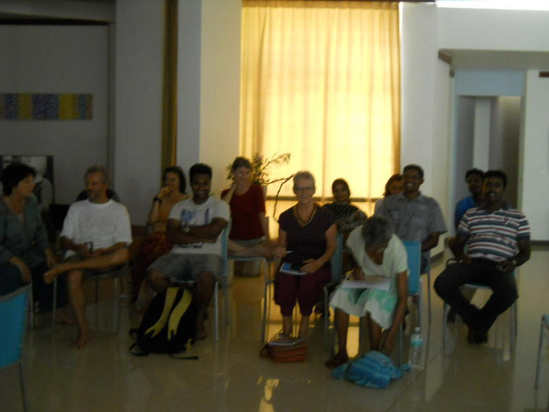 Photographer:Renu   Auroville Council members and meeting attendants