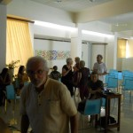 Auroville Council members and meeting attendants