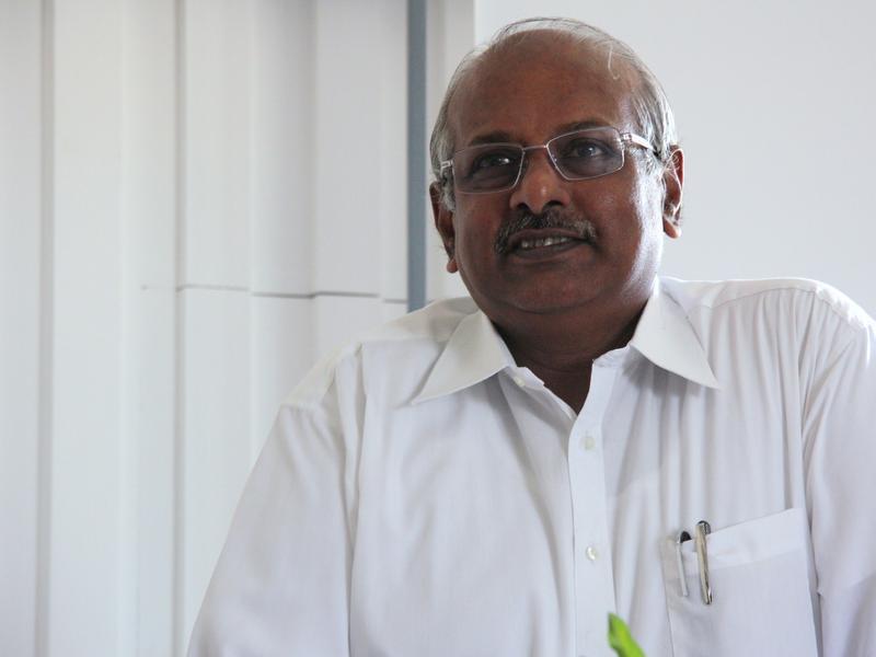 Photographer:web | Mr, Bala Baskar, Secretary of the Auroville Foundation