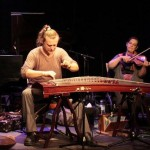 Jan Vanek with Estelle Koluda on violin
