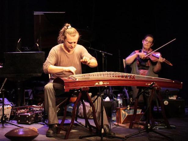 Photographer:web | Jan Vanek with Estelle Koluda on violin