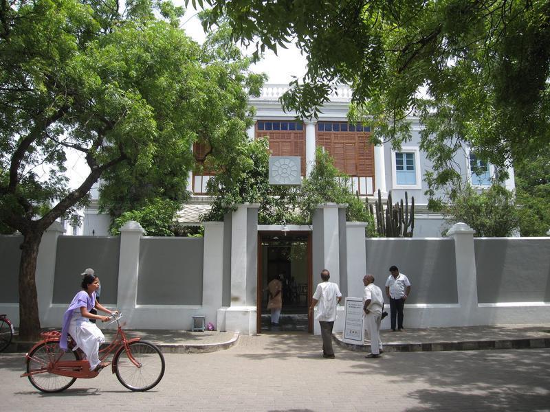 Photographer:web   Sri Aurobindo Ashram, Pondicherry