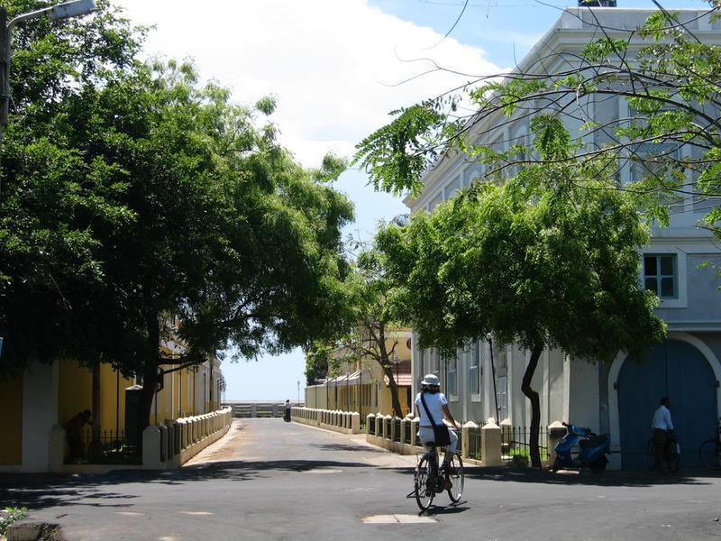 Photographer:web   Sri Aruobindo Ashram, Rue Suffren Pondicherry
