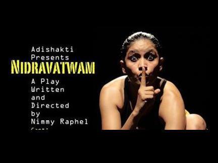Photographer:web   Nidravatwam , Sunday at 7pm Sri Aurobindo Auditorium, Bharat Nivas
