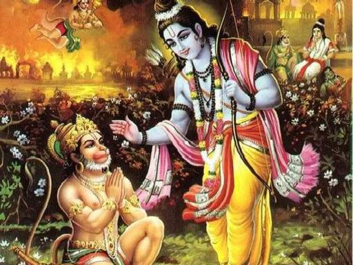 Photographer:web   Hanuman and Ramayana by Adishkati, Sunday at 7pm at Bharat Nivas