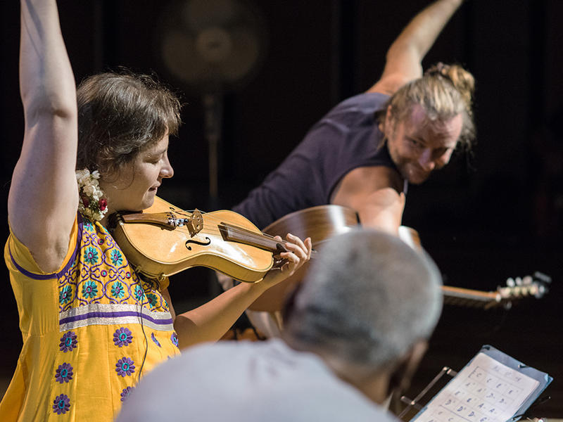 Photographer:Giorgio | From left: Estelle Koluda, Jan V. Vanek, Suresh Bascara