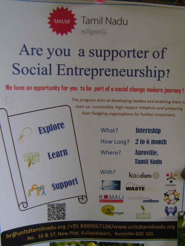 Photographer:web | UnLtd TAmil Nadu o Social Entrepreneurship